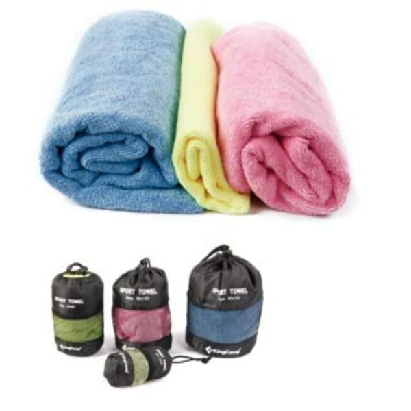 Multifunkční ručník KING CAMP Camper 90 x 180 cm
