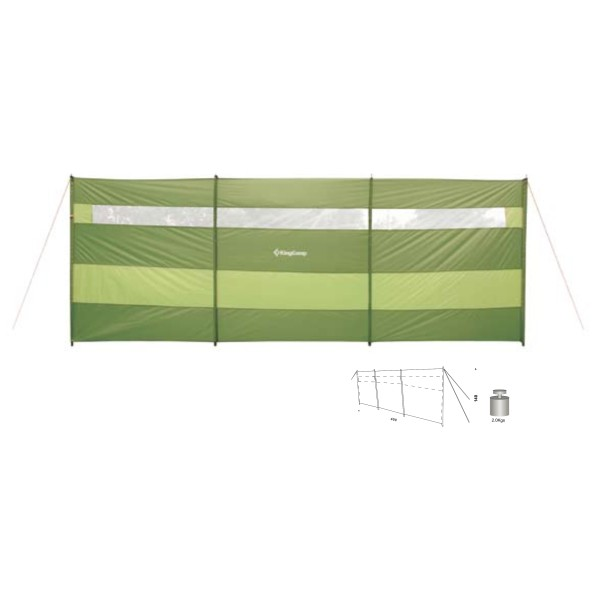 Zástěna KING CAMP Windscreen
